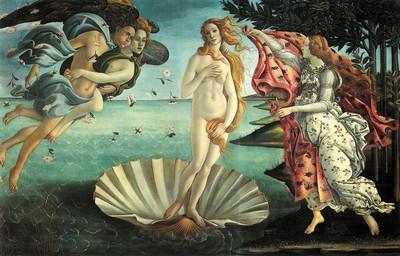 Uffizi, Nascita di Venere