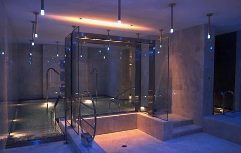 La spa dell'Aleph Hotel Boscolo a Roma