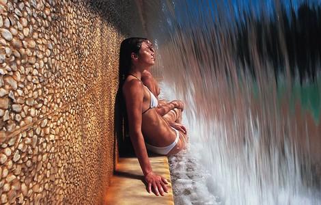 San Casciano Bagni, cascata Fonteverde