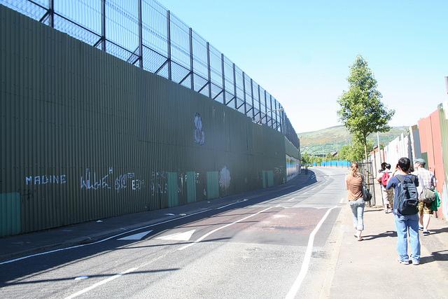 Belfast Peace Line