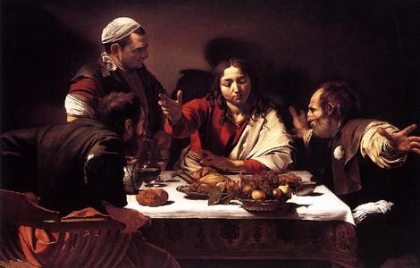 La cena di Emmaus di Caravaggio