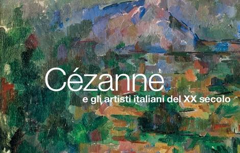 Cézanne e gli artisti italiani del XX secolo, particolare locandina
