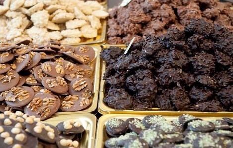 Delizie della Fiera del Cioccolato Artigianale di Firenze