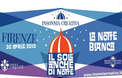 Notte Bianca a Firenze, il logo