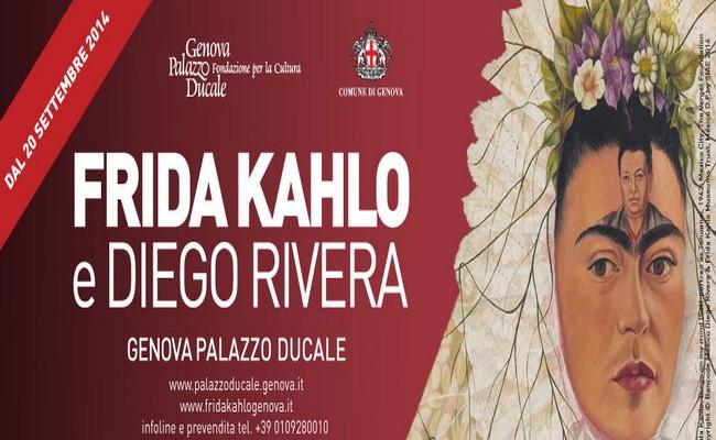 Mostra Frida Kahlo e Diego Rivera a Genova