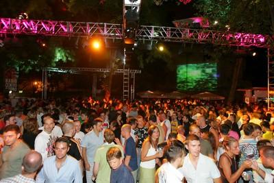 Una delle serate del Gay Village di Roma