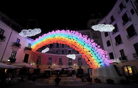 Salerno: Capodanno con Luci d'Artista