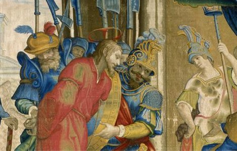 Mostra arazzi agli Uffizi a Firenze, particolare
