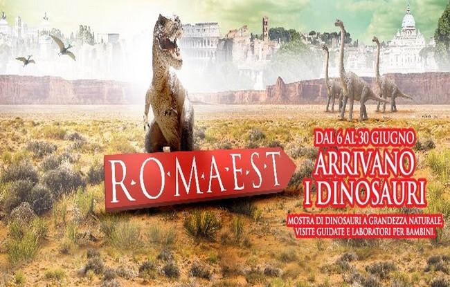 Mostra sui dinosauri a Roma Est