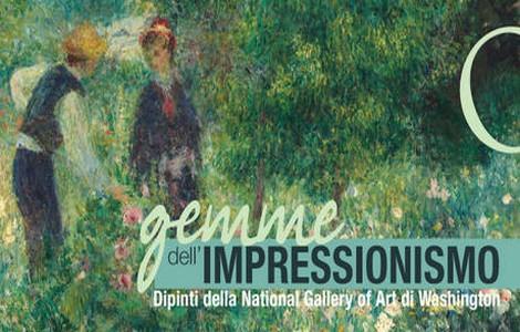 """Mostra """"Gemme dell'Impressionismo"""" a Roma"""