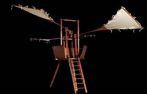 L'ornitottero di Leonardo da Vinci in mostra