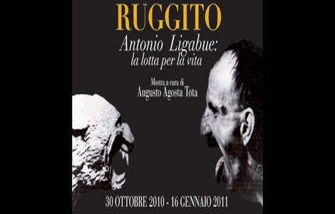 Mostra Antonio Ligabue a Firenze, locandina