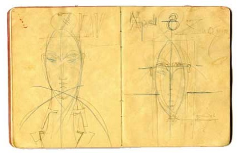 """Schizzi in mostra per """"Modigliani. Segno e Tradizione"""""""