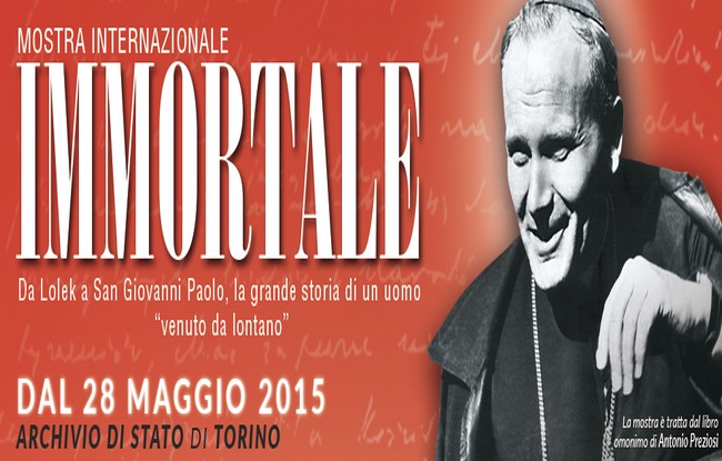 Mostra su Papa Giovanni Paolo II