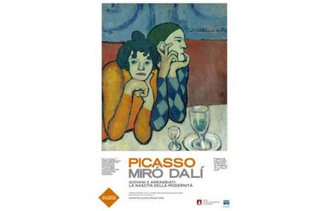 Mostra Picasso, Miró, Dalí a Firenze, Palazzo Strozzi