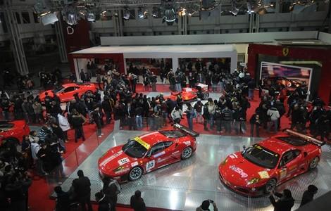 Motor Show a Bologna, uno dei padiglioni
