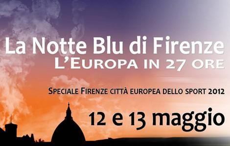 Notte Blu a Firenze
