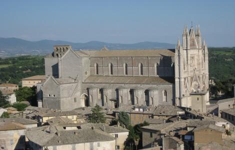 Veduta panoramica della Cattedrale di Orvieto ©Foto jeffschwartz