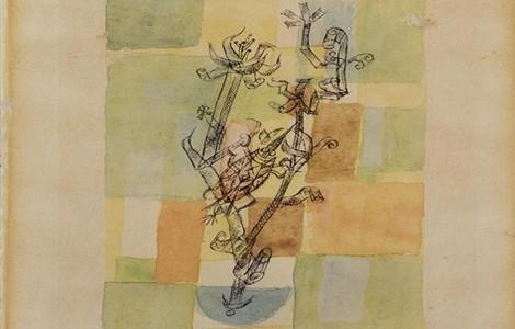 """Paul Klee, """"Afide gigante"""", particolare"""