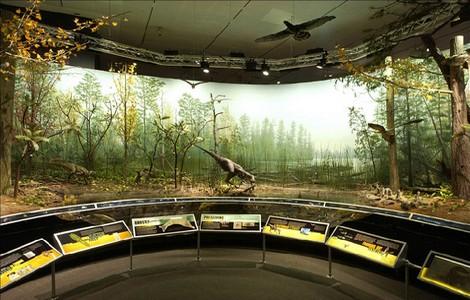 Il pianeta che cambia, mostra sui dinosauri