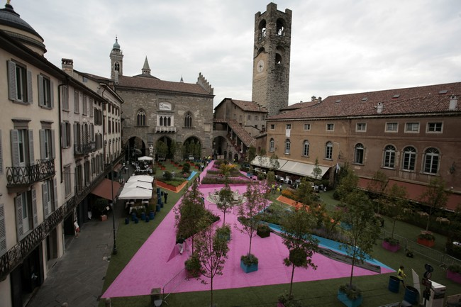 Piazza Verde 2014, Bergamo Alta