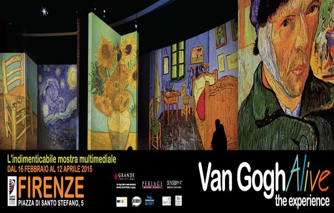 Mostra Van Gogh Alive a Firenze