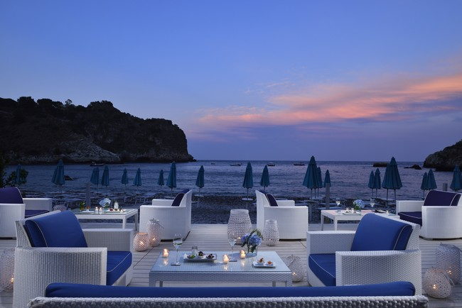 La Plage Resort a Taormina, Beach Bar