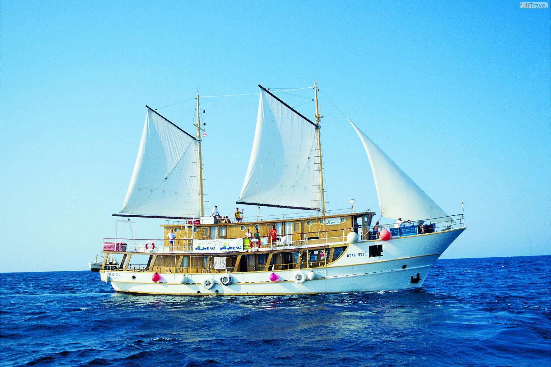 In Croazia, in barca