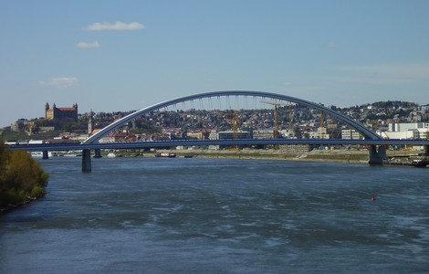 Bratislava, il ponte Apollo