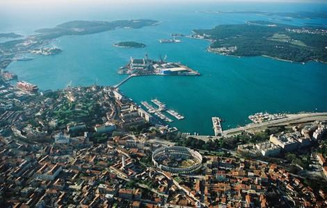 Vacanze Croazia: panorama di Pola