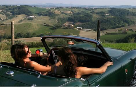 Festa della Donna in auto d'epoca