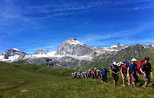 Giroparchi Nature Trail nei parchi della Valle d'Aosta