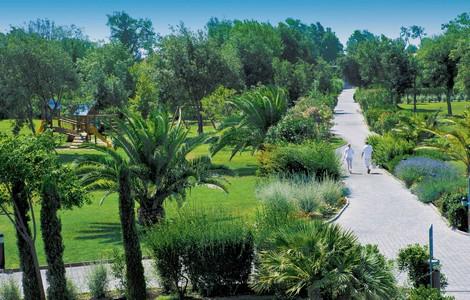 Parco del Green Park Resort di Tirrenia