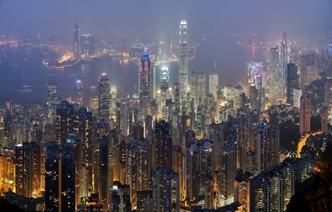 Hong Kong, lo skyline ©foto Diliff