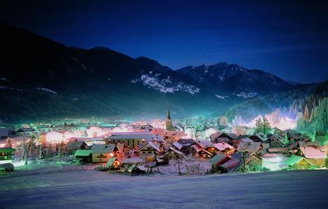 Kranjska Gora in inverno