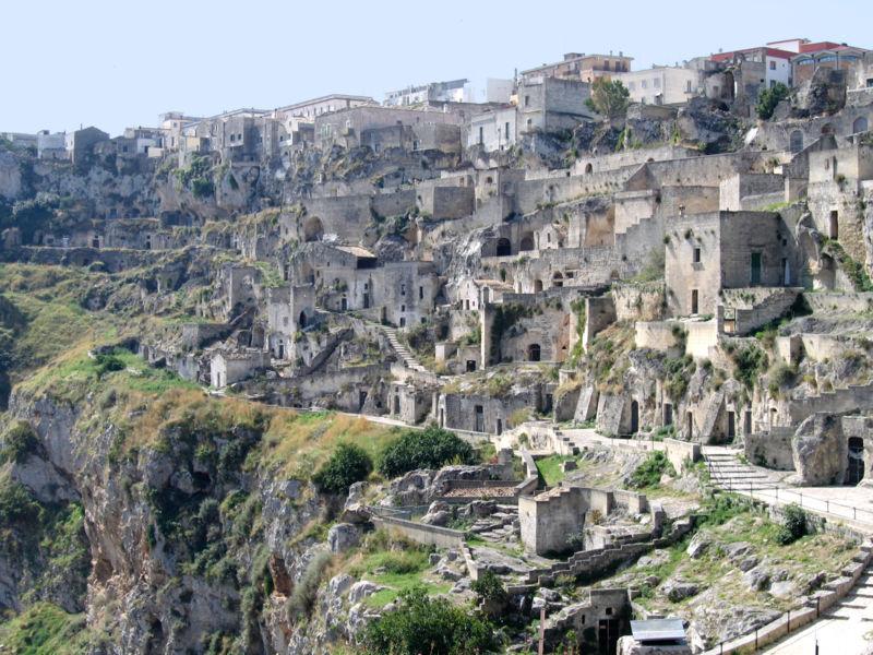 Matera, panorama Sasso Caveoso ©Foto Dominique Grassigli