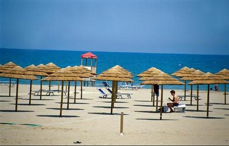 Rimini, la spiaggia ©Foto L. Bottaro