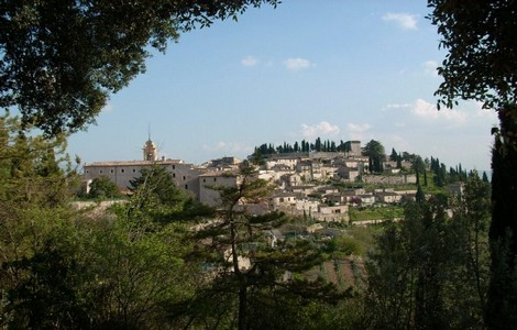 Weekend in Umbria: Spello, panorama ©Foto Pro Loco IAT Spello