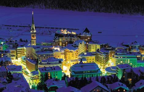 St Moritz in inverno