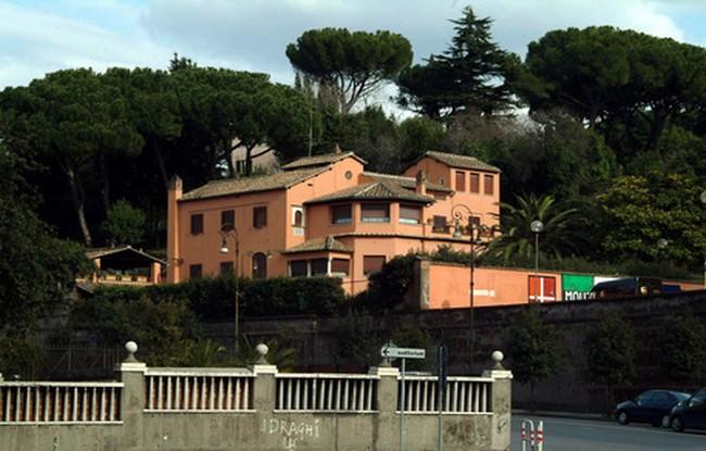 La villa di Alberto Sordi © foto Ansa