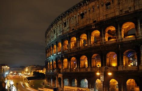 Colosseo, meraviglia di Roma ©Foto Schlurcher