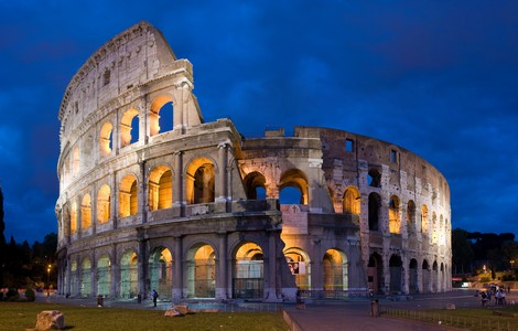 Roma, il Colosseo di notte ©Foto David Iliff