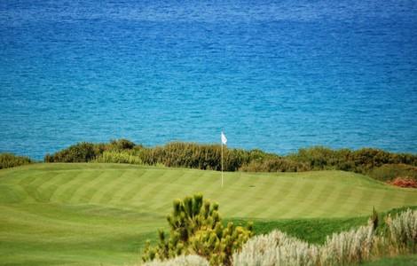 Costa Navarino, panorama dal campo di golf