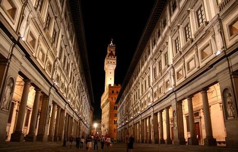 Galleria degli Uffizi a Firenze ©foto Chris Wee/Wikipedia
