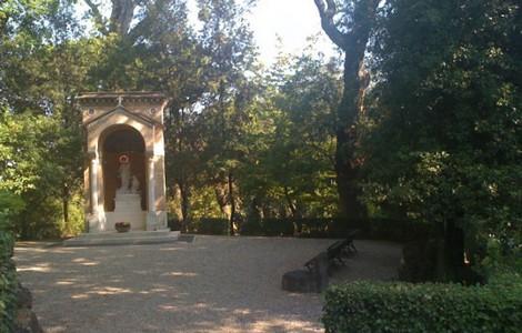 Giardini Vaticani, Madonna della Guardia ©foto Josp