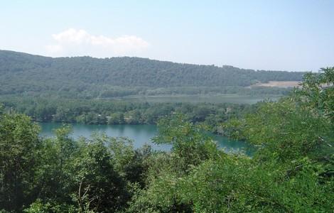 Laghi di Monticchio, nel Vulture, in Basilicata