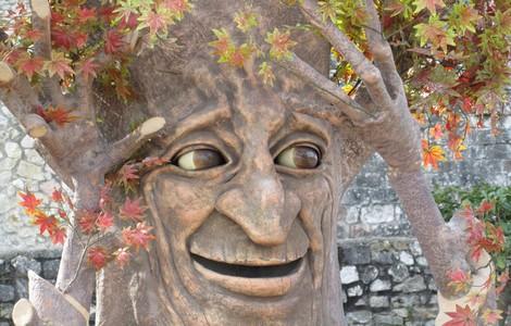 Parco medievale di Narni: Artù, albero parlante
