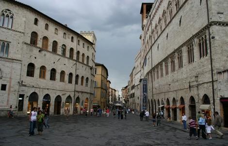 Perugia, una delle città Mirabilia - foto Giovanni dall'Orto