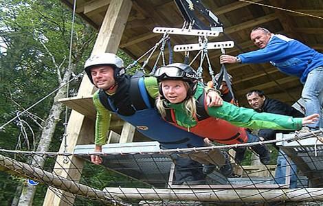 Volo dell'Angelo in coppia ©foto volodellangelo.com