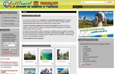 Travellisti, la community di FullTravel